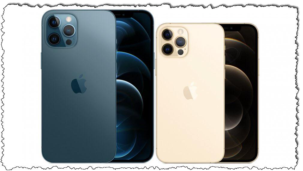 صور iPhone 12 Pro و iPhone 12 Pro Max.