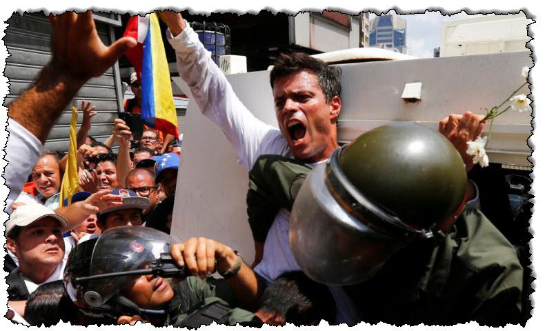 السياسي المعارض الفنزويلي لوبيز لوبيز يصل إسبانيا   فنزويلا