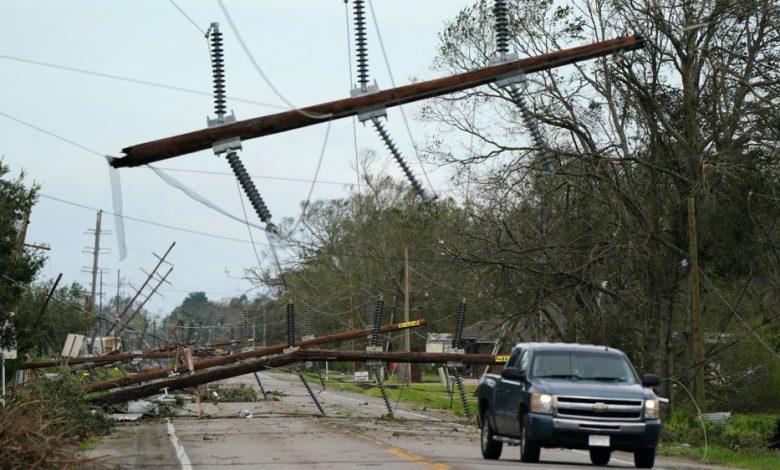 قد تتوجه زيتا إلى الولايات المتحدة بعد أن ضرب إعصار يوكاتان | المكسيك