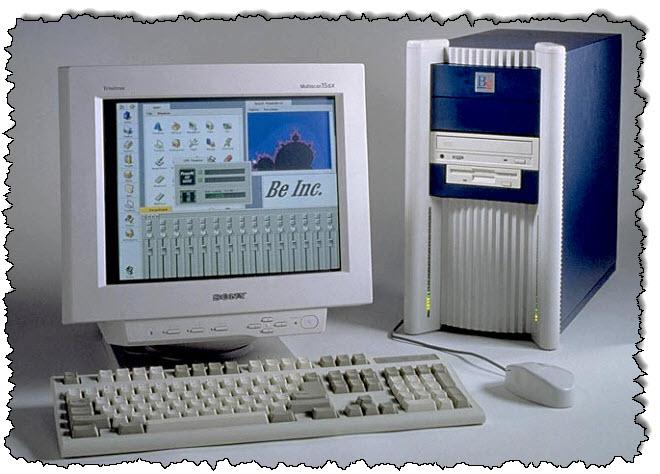الكمبيوتر المكتبي الأصلي BeBox.