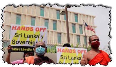 """صورة الصين تطلب من الولايات المتحدة ألا """"تتنمر"""" على منطقة آسيا والمحيط الهادئ في سريلانكا قبل زيارة بومبيو"""