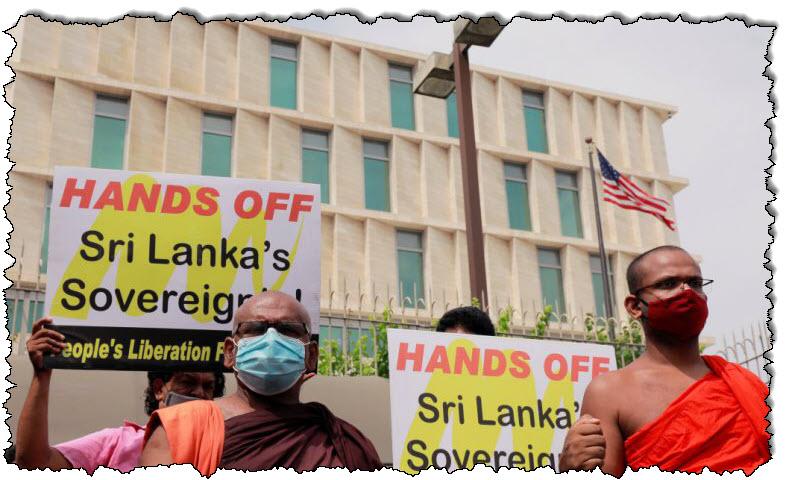 """الصين تطلب من الولايات المتحدة ألا """"تتنمر"""" على منطقة آسيا والمحيط الهادئ في سريلانكا قبل زيارة بومبيو"""