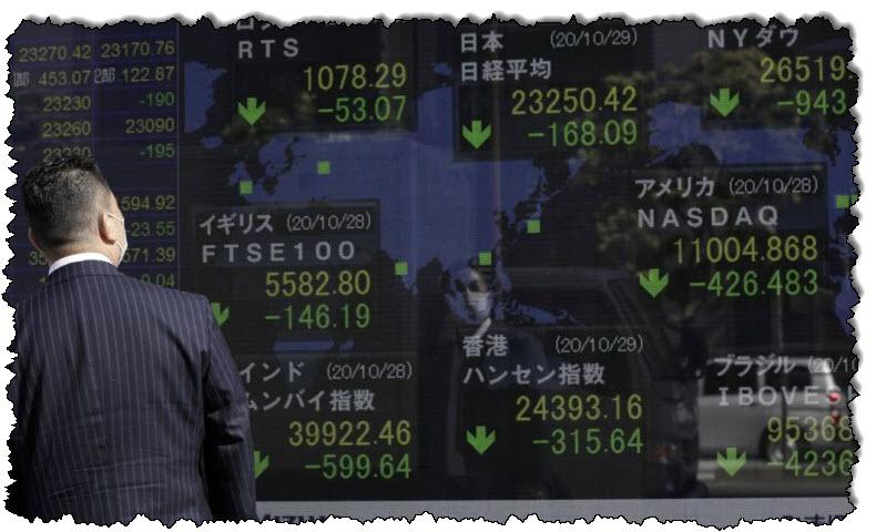 مع ارتفاع حالات الإصابة بالفيروسات ، توسعت الأسهم الآسيوية في عمليات بيع الأسواق العالمية أخبار آسيا والمحيط الهادئ