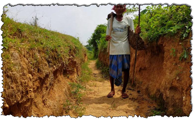 """حفر """"المجنون"""" لعقود لجلب المياه لقرية هندية جافة. أخبار الهند"""