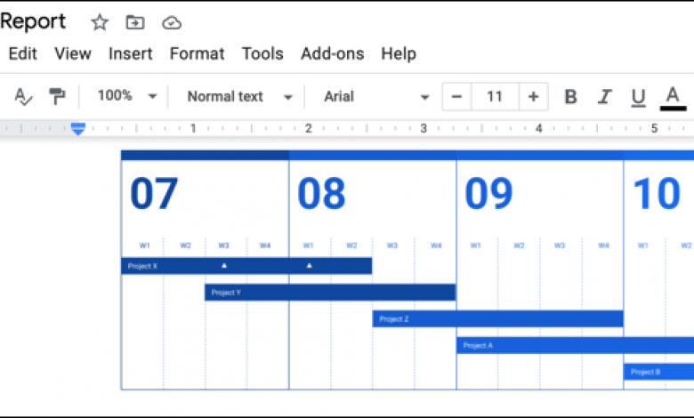 كيفية تضمين رسومات Google في مستندات Google