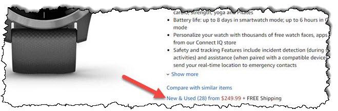 """من فضلك اضغط """"جديدة ومستعملة"""" لمزيد من خيارات الشراء ، يرجى زيارة صفحة منتج أمازون."""