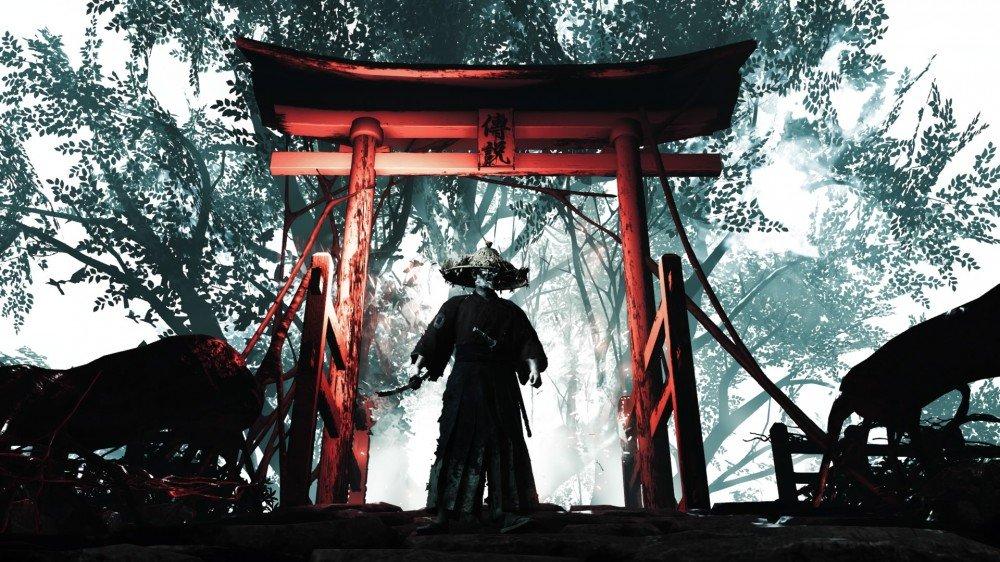 لقطة شاشة لشبح تسوشيما.