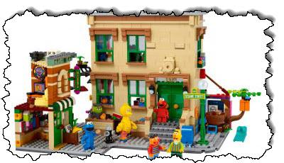 """صورة Lego يدخل """"شارع سمسم"""" بأحدث حلقاته من Concepts ، والتي ستكون متاحة في 1 نوفمبر – Commentary Geek"""