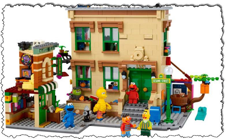 """Lego يدخل """"شارع سمسم"""" بأحدث حلقاته من IDEAS ، والتي ستكون متاحة في 1 نوفمبر - Commentary Geek"""