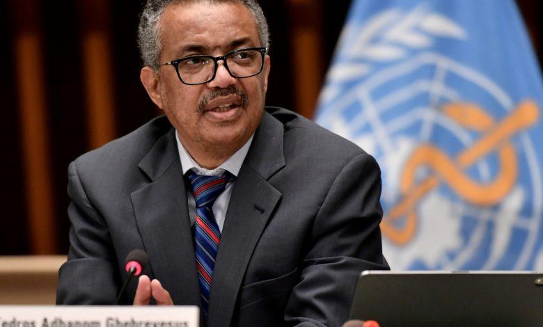 تلقى رئيس منظمة الصحة العالمية تيدروس رقم الحجر الصحي بعد الاتصال بـ COVID-19 | سويسرا