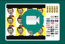 صورة كيفية استخدام الخلفيات الافتراضية في Google Fulfill