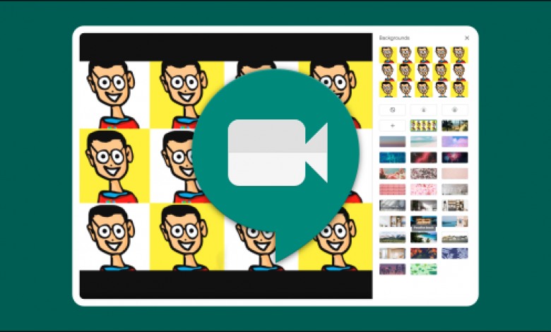 كيفية استخدام الخلفيات الافتراضية في Google Meet
