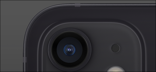 الكاميرا على iPhone.