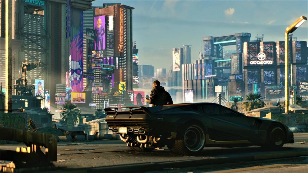 لقطة شاشة Cyberpunk 2077