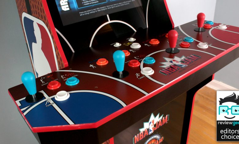 The 'NBA Jam' Arcade Cabinet Proves Arcade1Up Is (Almost) on Fire – Review Geek