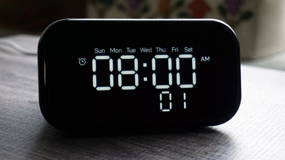 إعدادات إنذار Lenovo Smart Clock Essential
