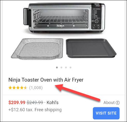 اختر منتجًا.
