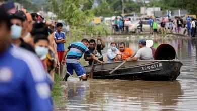 صورة تسبب الإعصار إيتا في مقتل العشرات ، ولا تزال أمريكا الوسطى في حالة تأهب قصوى ، وهندوراس