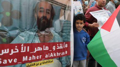 """صورة يتسبب الإضراب عن الطعام في """"وفاة"""" الفلسطينيين في الشرق الأوسط لمدة 100 يوم"""
