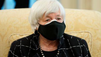 صورة مقياس يلين: يعتقد وزير الخزانة الأمريكي أن البطالة هي المفتاح لأخبار جائحة فيروس كورونا