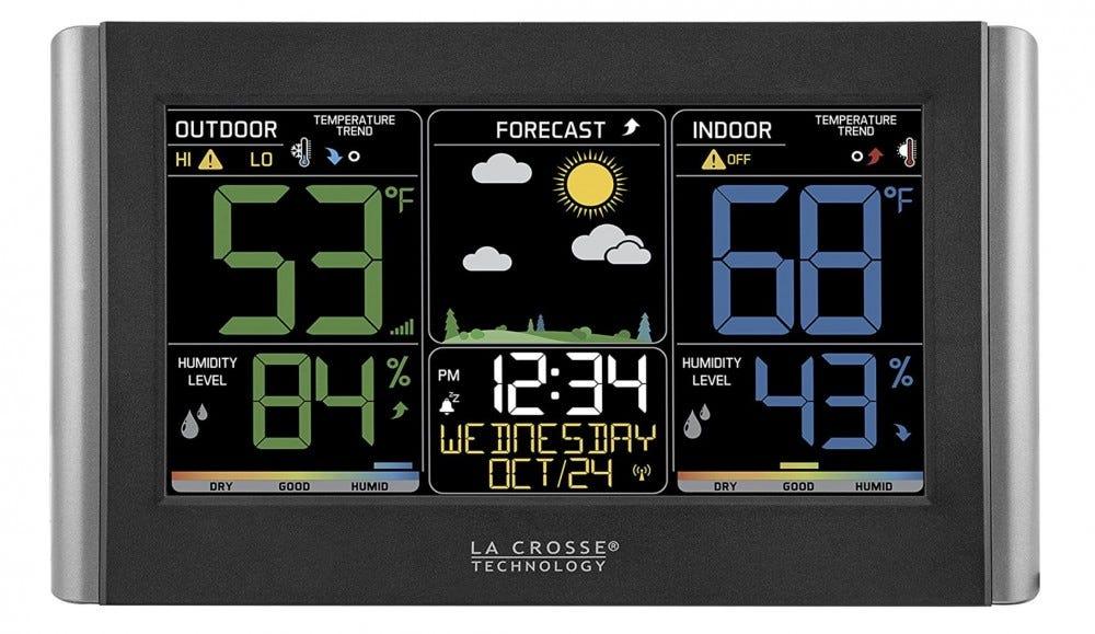 عرض الطقس في لا كروس