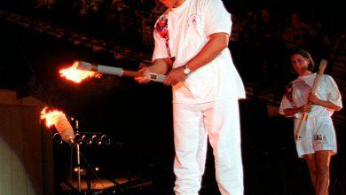 صورة إضاءة الشعلة الأولمبية في المائة عام الماضية   معرض الأخبار