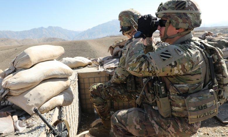 """تقول الولايات المتحدة إن """"وضع القوة"""" في أفغانستان في الأول من مايو لا يزال غير واضح. أشرف غني نيوز"""