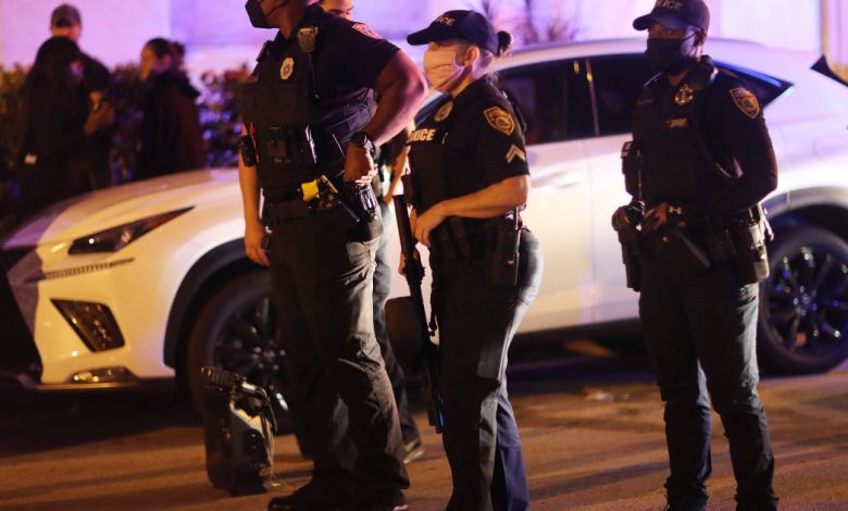 في الصورة: اعتقال مئات الأشخاص في ميامي بيتش بالولايات المتحدة وكندا نيوز