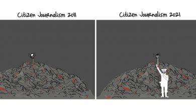 صورة كارتون الربيع العربي: أخبار المواطن من سوريا إلى السودان | الربيع العربي: 10 سنوات من الأخبار