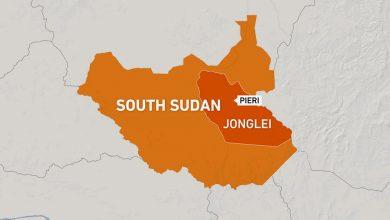 صورة لقي ما لا يقل عن 10 أشخاص مصرعهم في حادث تحطم طائرة في جنوب السودان