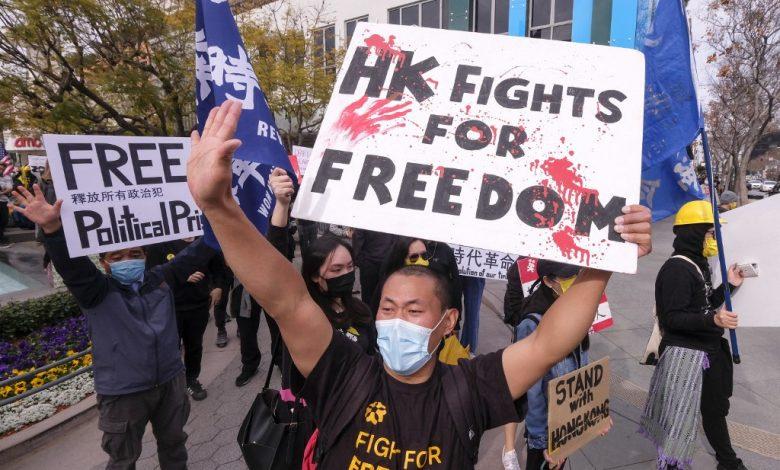 """الولايات المتحدة تقول إن تغييرات انتخابات هونج كونج """"تهاجم الديمقراطية""""   أخبار سياسية أمريكية"""