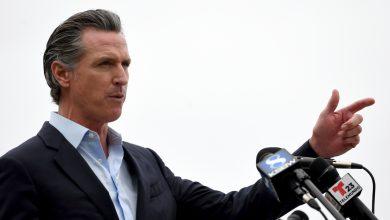 صورة الولايات المتحدة: حاكم ولاية كاليفورنيا جافين نيوسوم (جافين نيوسوم) يواجه تصويت سحب الثقة   أخبار الانتخابات