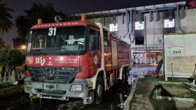 صورة دموع النار في مستشفى كوفيد بغداد اخبار الشرق الاوسط