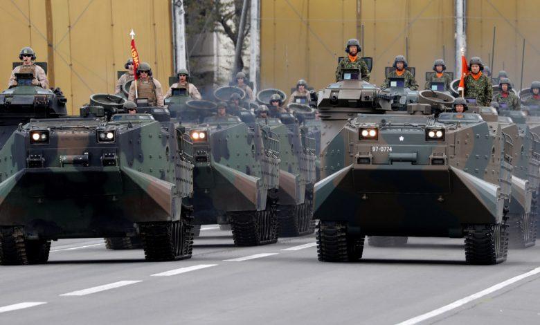 """ستجري اليابان أول """"لعبة حرب"""" مشتركة مع الولايات المتحدة وفرنسا"""