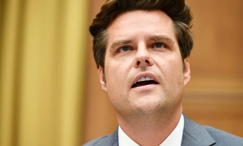 عضو الكونجرس المؤيد لترامب مات جيتس يواجه اتهامات جنسية دونالد ترامب نيوز