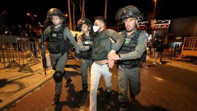 صورة وبعد إطلاق الصاروخ شنت إسرائيل هجوما على القدس الشرقية المحتلة على قطاع غزة المحاصر.