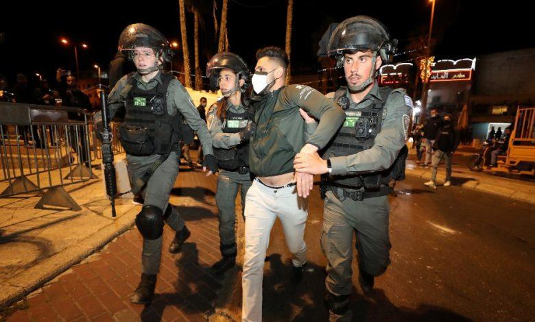وبعد إطلاق الصاروخ شنت إسرائيل هجوما على القدس الشرقية المحتلة على قطاع غزة المحاصر.