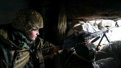 صورة وتلقي أوكرانيا باللوم على روسيا في زيادة التوترات في أنباء النزاع الحدودي