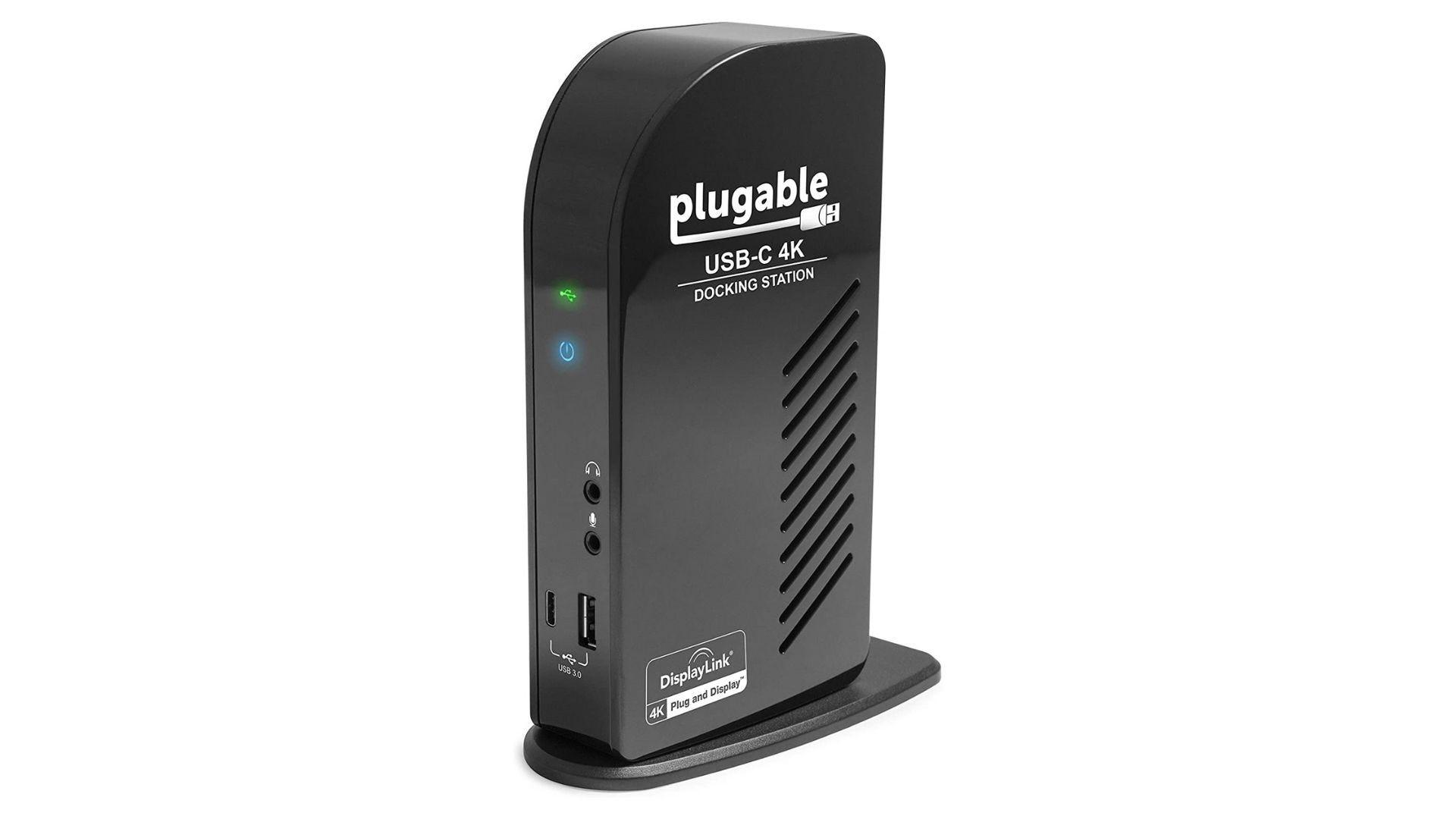 محطة إرساء USB-C 4K قابلة للتوصيل لأجهزة الكمبيوتر المحمولة