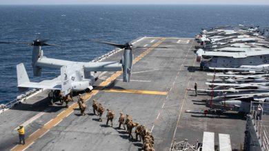 صورة مع زيادة دوريات البحرية الأمريكية ، تقوم الصين بالتنقيب في بحر الصين الجنوبي المثير للجدل ، وأخبار النزاع الحدودي