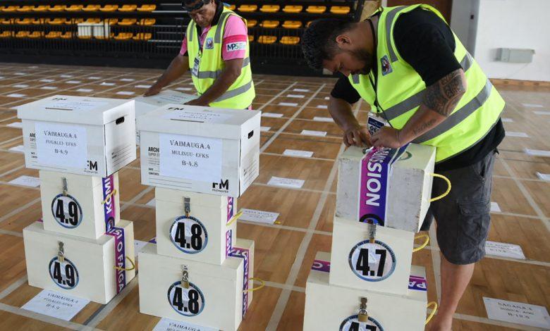 العد في انتخابات التقشف في ساموا - أخبار الانتخابات الدولية