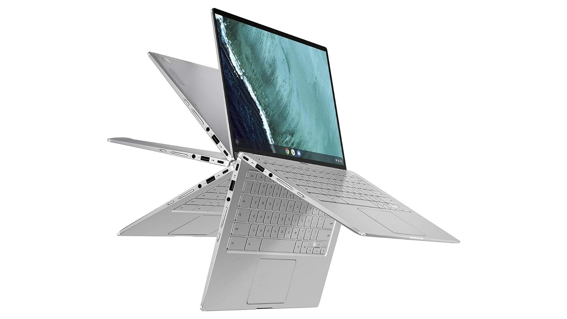 الكمبيوتر المحمول ASUS Chromebook Flip C434 2 في 1