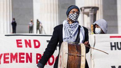 صورة المتطرفون الذين يغضبون الولايات المتحدة يطالبون بإنهاء حصار اليمن لأخبار الصراع