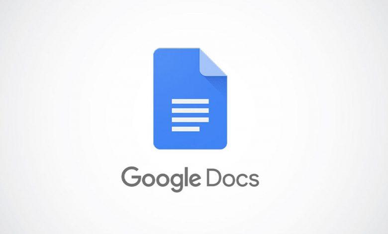 كيفية إنشاء سقف منسدل في محرر مستندات Google