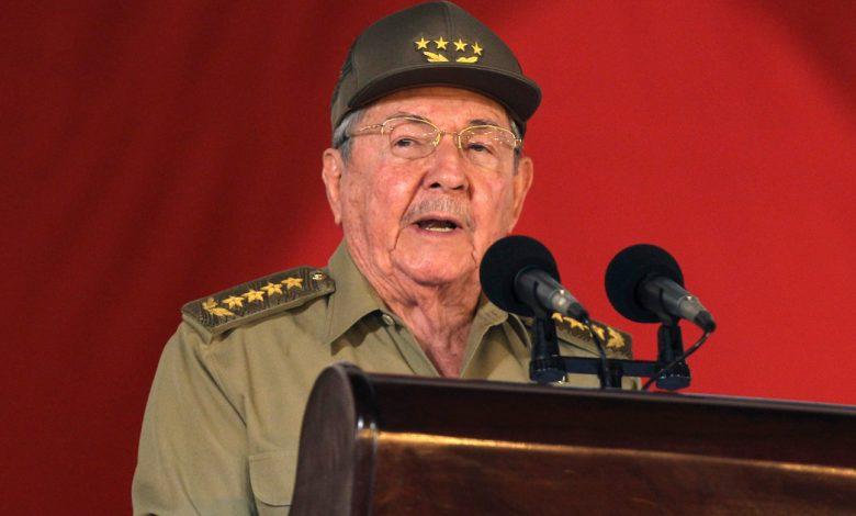 راؤول كاسترو يستقيل من رئاسة الحزب الشيوعي الكوبي   فيدل كاسترو نيوز