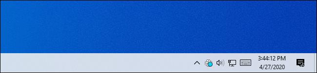 تظهر ساعة شريط المهام في نظام التشغيل Windows 10 ثوانٍ