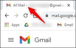 """رسالة قصيرة """"بريد إلكتروني غير مقروء"""" الرقم عندما لا يكون في البريد الوارد."""