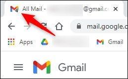 """هذا """"بريد إلكتروني غير مقروء"""" أرقام على رمز التسمية."""