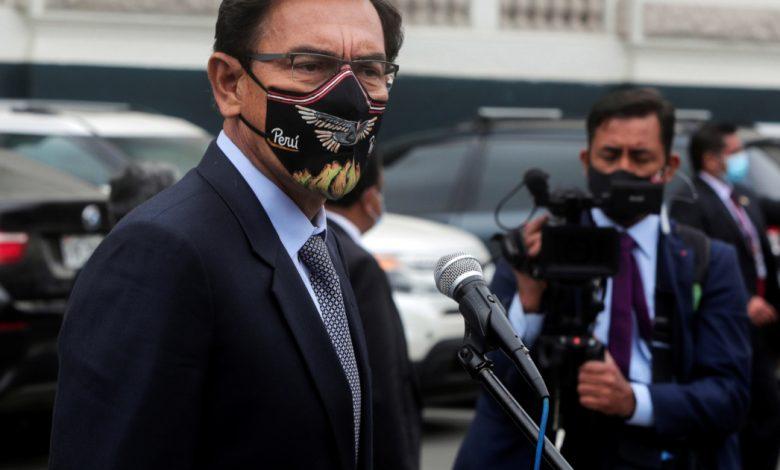 ثبتت إصابة الرئيس البيروفي السابق فيزكارا بـ COVID-19 | أخبار جائحة فيروس كورونا