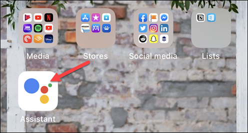 iOS تطلق مساعد جوجل